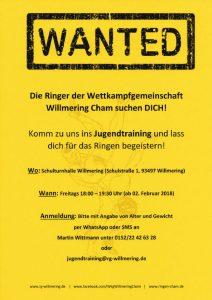 WKG Willmering Cham Jugentraining